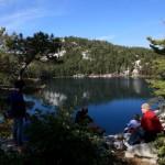 Ontario - balade au bord du lac Topaze