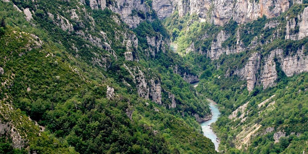 Gorges du Verdon : le Grand bleu