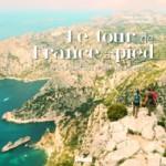 Le tour de France à pied