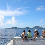 L'archipel guadeloupéen à la voile