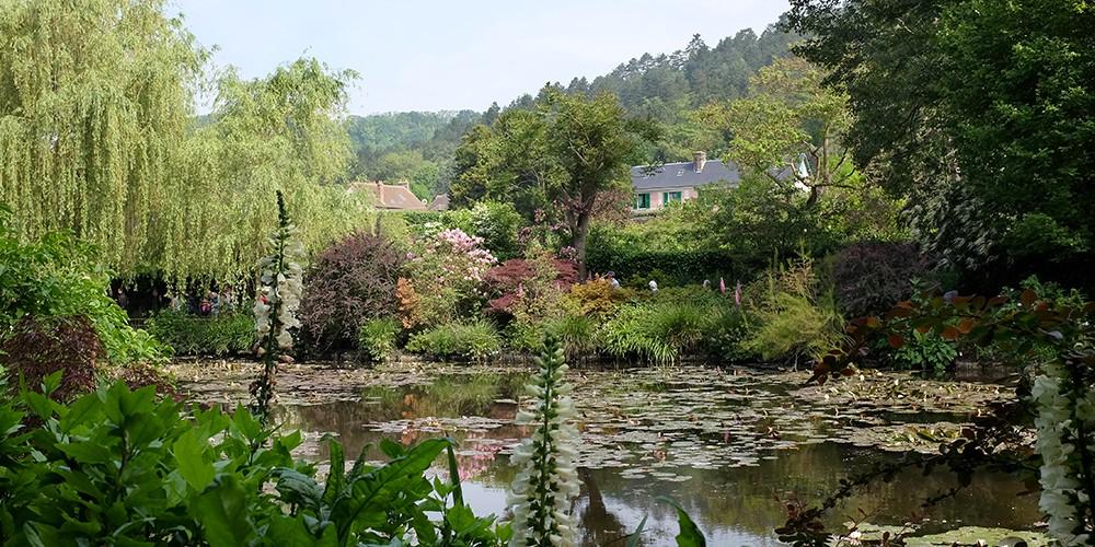 Giverny côté jardins et côté Seine !