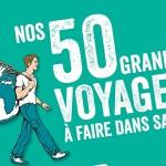 Le monde en 50 voyages
