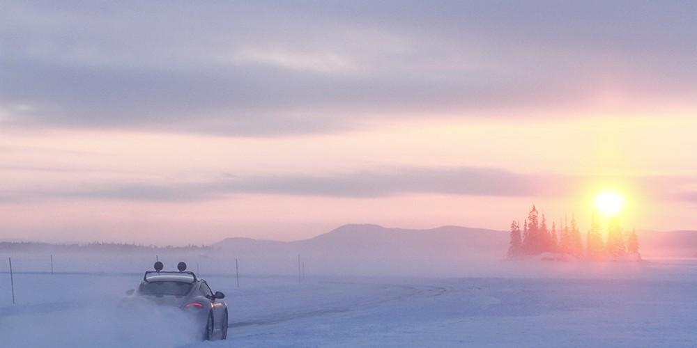 La Laponie suèdoise à plus de 200 km/h !