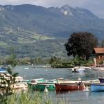 Sur le lac bleu, d'Annecy à Talloires