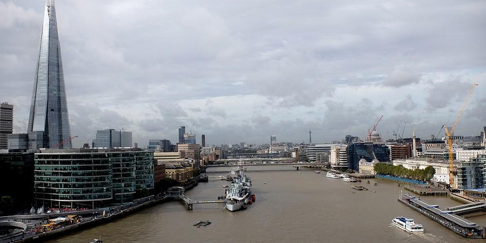 Londres, par la voie des eaux