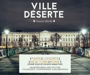 Ville deserte - photo G. Bardy