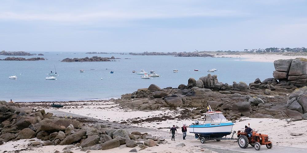 De la côte des Légendes à Brest