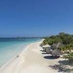 La Jamaïque, de bleu et de blanc