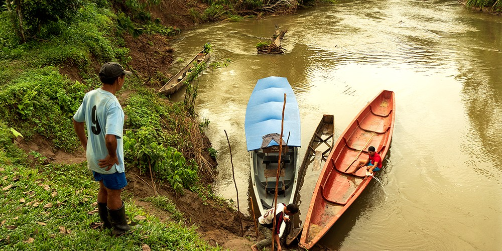 En Amazonie chez les indiens Waorani