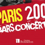 Paris bars – concerts