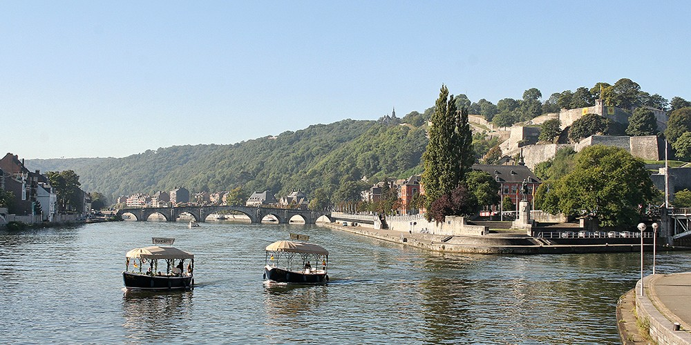 Namur entre Meuse et Sambre