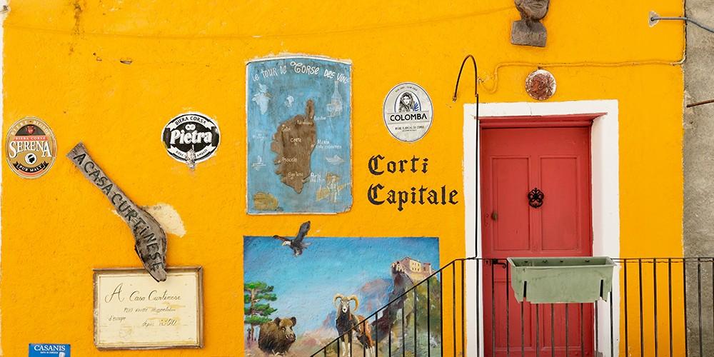 Corte, la cité capitale de Corse